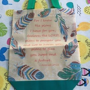 Small religious tote bag: Old Testament, Jeremiah
